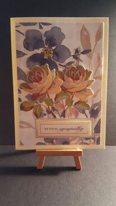 Sympathy Card www.etsy.com/shop/jengirlsdesigns #etsy #jengirlsdesigns #handmade #card #handmadecard #greetingcards #sympathy #etsyshop #etsystore #etsyseller #etsysellers #etsyusa #etsyfinds