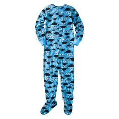target Adult footed pajamas