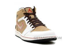 524ed899737bd9 Nike Air Jordan 1 (I) Retro Fathers Day White   Tweed Free Shipping NH5EBt