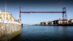 Puente Colgante de Bizkaia Bridge Engineering, Travel, Suspension Bridge, Bridges, Pendants, Elegant, Viajes, Destinations, Traveling