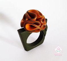 Polymer Clay - Flower ring by Paula Cruz,, | Flickr - Photo Sharing!