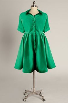 love the green and this designer