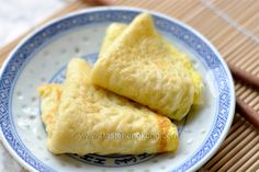 Egg Pancake Rolls, Chinese and Taiwanese Street Food | Hong Kong Food Blog with Recipes, Cooking Tips mostly of Chinese and Asian styles | Taste Hong Kong