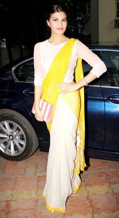 Jacqueline Fernandez launched Shonali Sabherwal's book 'Love Diet' in Mumbai.