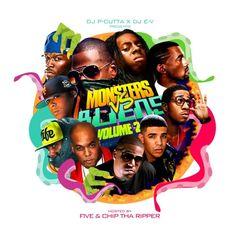 DJ P-Cutta & DJ E-V: Monsters Vs Aliens Vol. 2