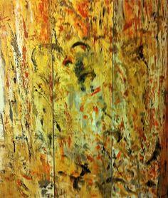 "Triptych ""Love at first sight"" 3 x 170 x 50 - Oil on linen www.shireenpharaony.com"