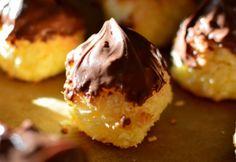 Izlandi kókuszcseppek Hungarian Desserts, Your Recipe, Cookie Desserts, Biscuits, Recipies, Muffin, Paleo, Food And Drink, Pudding