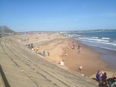 Dawlish Warren Beach - beautiful, sandy beach, full of family attractions and amusements. Just up the road from Devon Valley! Devon Beach, South Devon, Fire Safety, Lifeguard, Canoe, Kayaking, Places Ive Been, Beaches, Adventure
