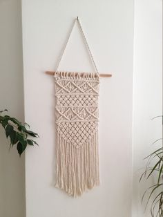 Macrame wall hanging, woven wall hanging, woven wall tapestry, boho wall hanging, wall tapestry, macrame, boho home decor, textile hanging by WallKnot on Etsy https://www.etsy.com/listing/466609941/macrame-wall-hanging-woven-wall-hanging