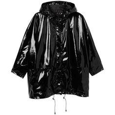 Monki Viola jacket (270 ILS) ❤ liked on Polyvore featuring outerwear, jackets, coats & jackets, tops, black magic, black diamond jacket, summer jacket, monki, shiny jacket and black jacket