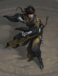 ArtStation - The Oriental Fighter, Junggeun Yoon