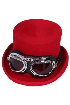 MHALT09 - 5 INCH LINED WOOL STEAMPUNK TOP HAT | Accessories Golden Steampunk | Phaze Clothing