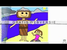 Johannes de Doper en Jezus, Bijbelverhalen in beeld voor kinderen