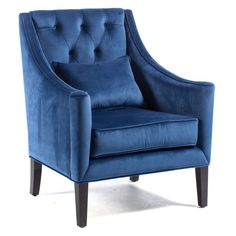 Sit back and relax in our Belham Living Avery Arm Chair with Back Pillow . This wood-framed chair is covered in luxurious upholstery to instantly elevate. Blue Accent Chairs, Pink Chairs, Shingle Style Homes, Wood Frame Construction, House Of Turquoise, Chair Bench, Chair Cushions, Dining Chair, Back Pillow