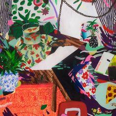 Katie Batten Print 2, You Also Have A Pizza | Little Paper Planes