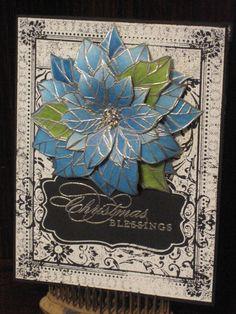 Ex Libris Christmas Blessings - RaeDeen Bittner - http://stampingforhisglory.blogspot.com/