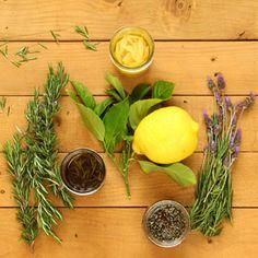 Es ist so einfach und lohnend, um pflanzliche Öl aus frischen Kräutern zu machen.  Wir werden 3 infundiert Öle: Rosmarin, Lavendel und Zitrone!