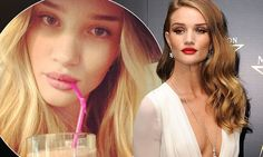 Drink your way to a supermodel physique! Victoria's Secret Angel Rosie Huntington-Whiteley shares her juice and soup recipes