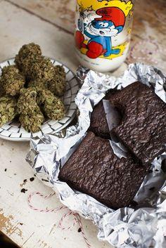 How to make pot brownies and get mega stoned #marijuana #marijuanarecipes http://budposters.com/