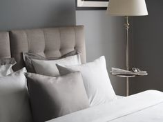 Bed Sheets Keep Coming Off Linen Bedding, Bed Linen, Interior Decorating, Interior Design, Design Interiors, Lets Stay Home, Grey Flooring, Floors, Luxury Bedding Sets
