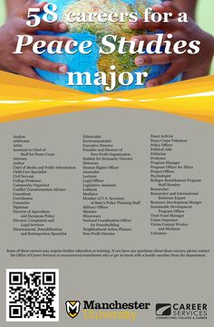 58 careers for a Peace Studies Major