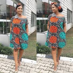 Most stylish collection of ankara short gown styles of 2019 trending today, try these short ankara gown styles Latest Ankara Short Gown, Ankara Short Gown Styles, Trendy Ankara Styles, Short Gowns, Ankara Gowns, Ankara Dress, Maxi Dresses, Woman Dresses, Dress Outfits