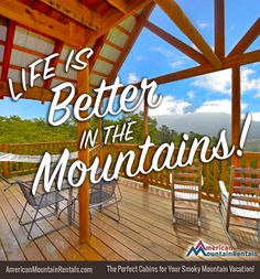 Ain't that the truth! http://americanmountainrentals.com/