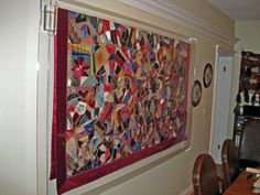 Image result for acrylic frame for large textiles on display