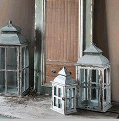 Window Frame Lanterns (Set-3)