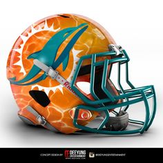 Does your NFL team need a fresh, new look? The folks at Deeyung Entertainment are here to help. The design company decided to create bold concept helmets for all 32 NFL teams. Raiders Helmet, New Helmet, Cool Football Helmets, Sports Helmet, New Nfl Helmets, Custom Helmets, Oakland Raiders Football, Raiders Fans, Cincinnati Bengals