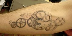 27 Incredible Steampunk Tattoo Idea Collection