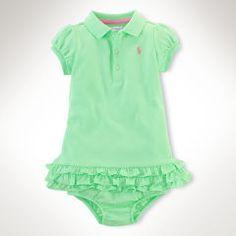 Cotton Cupcake Dress - Baby Girl Dresses & Skirts - RalphLauren.com