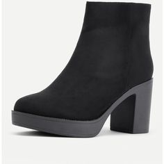 Side Zipper Chelsea Ankle Boots (€29) ❤ liked on Polyvore featuring shoes, boots, ankle booties, side zip boots, chelsea bootie, chelsea ankle boots, side zipper boots and beatle boots