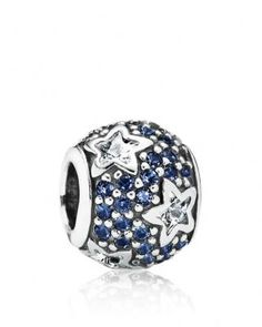 PANDORA Charm - Sterling Silver, Cubic Zirconia & Crystal Follow the Stars, Moments Collection | Bloomingdale's