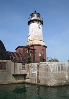 Buffalo South Entrance South Side Lighthouse, New York at Lighthousefriends.com