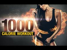 If losing fat fast is the goal, you need to do these 1000 calorie workouts. Get the results you deserve in the time you want. 20 Minute Hiit Workout, 1000 Calorie Workout, Calorie Burning Workouts, Cardio, Tabata, Hiit Workouts For Beginners, Easy Workouts, At Home Workouts, Exercises