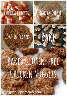 Baked Gluten-Free Chicken Nuggets