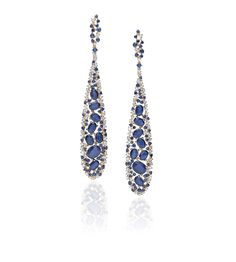 CASATO - ROMA -DRAGONEYEV-  18 kt rose gold, sapphires, rubies, emeralds and diamonds