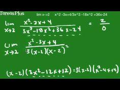 Problema de un límite que no existe para una función racional