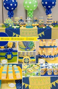 60 Best Minion Birthday Party Ideas Images On Pinterest Ideas