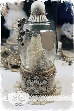 Waterless Snowglobe Tutorial
