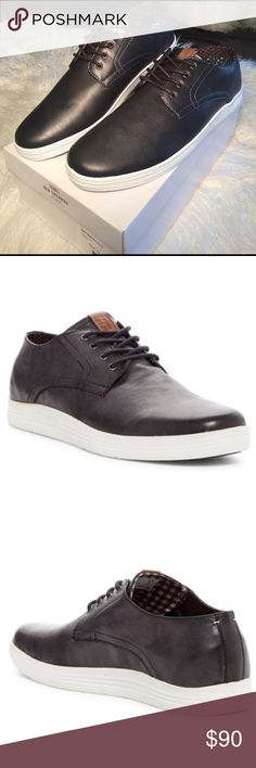 Ben Sherman - Preston Sneaker Ben Sherman - Preston Sneaker.                                         Details Sizing: True to size.  - Round toe - Lace-up vamp - Topstitched detail - Cushioned insole - Size : 10 Materials Manmade upper and sole Ben Sherman Shoes Sneakers