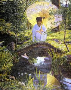 Lilla Cabot Perry Japanese garden