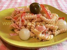 Těstovinový salát s Moravankou