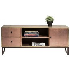 mueble televisión Rivet Copper