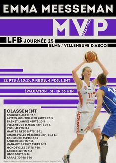 Emma Meesseman - MVP Etrangère - LFB Journée #25
