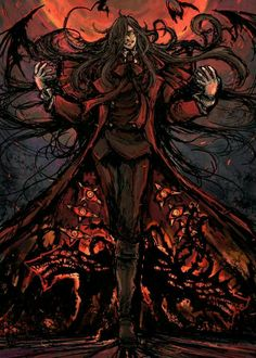 Find images and videos about vampire, hellsing and alucard on We Heart It - the app to get lost in what you love. Hellsing Alucard, Best Vampire Anime, Fantasy Characters, Anime Characters, Dark Fantasy, Fantasy Art, Manga Art, Anime Art, Castlevania Anime