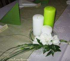 dekoracja świec