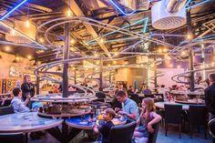 To πιο πρωτότυπο εστιατόριο στο Ηνωμένο Βασίλειο άνοιξε τις πύλες του ικανοποιώντας ακόμα και τον πιο απαιτητικό πελάτη.