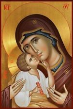 Icons:holy image of Christ, the Virgin Mary, or a saint venerated in the Eastern Orthodox Church Byzantine Icons, Byzantine Art, Blessed Mother Mary, Blessed Virgin Mary, Religious Icons, Religious Art, Image Jesus, Russian Icons, Church Icon